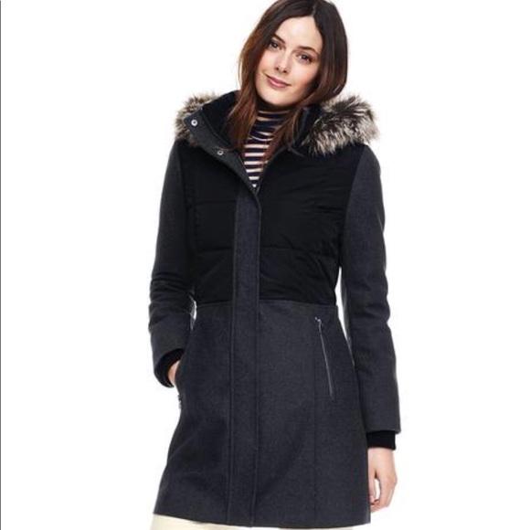 5e9c9f9d3c Lands  End Jackets   Blazers - Land s End Women s Hybrid Coat